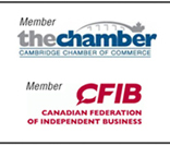 Member Cambridge Chamber of Commerce and CFIB